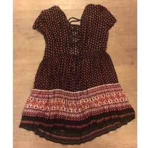 Urban Outfitters Printed Dress Size S